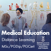 Swansea University Medical Education Distance Learning Courses